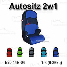 Autositz MARS 2in1 Kindersitzerhöhung Gruppe I-III R44/04 9 Monat -> 12 Jahren