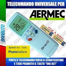 TELECOMANDO UNIVERSALE PER CLIMATIZZATORE CONDIZIONATORE AERMEC