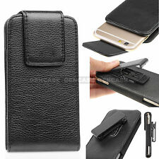 "For Apple iPhone 6 (4.7"") Leather Vertical Pouch Case with Rotating Belt Clip"