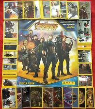 ORIGINAL Avengers Infinity War WITH ALL 180 STICKERS TO COMPLETE ALBUM