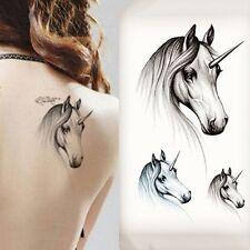 Horse Pattern Temporary Tattoo Stickers Temporary Body Art WaterProof Tattoo Neu