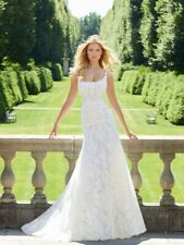 Mori Lee 2035 Size 16 GENUINE Wedding Dress Ivory With tags