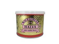 Grec MACEDONIAN HALVA WITH VANILLA, poids net 500 g, tin can.
