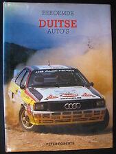 Rebo Book Beroemde Duitse Auto's Peter Roberts (Nederlands) (JvH) 1985 2e exempl
