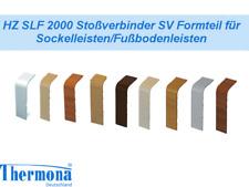 HZ SLF 2000 Stoßverbinder SV Formteile für Sockelleiste versch. Farben