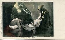 CARTE POSTALE / PUBLICITAIRE CHOCOLAT VINAY / GIRODET / MORT D'ATALA