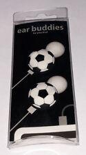 Soccer Ball Earphone Charm - Earbud Cord Charm - Ear Buddies New in package