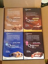 2019 Quest Nutrition Protein Bars 48 Pack - 4 Flavours MultiPack Saving, Grenade