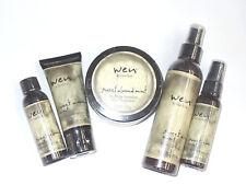 WEN by Chaz Dean Full Hair Treatment 5-Piece Set Sweet Almond Mint