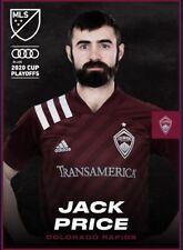 [DIGITAL CARD] Topps Kick - Jack Price - MLS 2020 Playoffs - Team Color