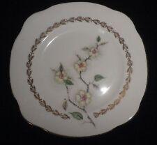 Duchess Bone China Apple Blossom Plate Gold Gilding VGC