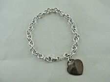 925 Sterling Silver LaDea Benata KA 1772 Heart Charm Bracelet 245C