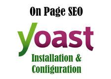 Yoast Seo optimización para Wordpress Web optimización de motores de búsqueda y sitio web el tráfico onpage Seo