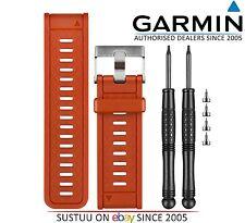 Garmin Reemplazo Naranja Banda Correa De Reloj D2 Fenix 2 Quatix Tactix 010-11814-06