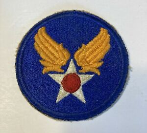 Vintage WWII US Army Air Force Military Patch USAF Uniform Piece