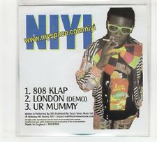 (GP813) Niyi, 808 Klap - 2007 DJ CD