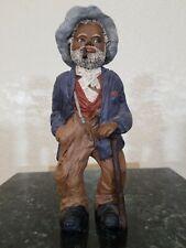 """All God's Children"", Martha Holcombe Figurine Artwork, ""Uncle Bud"" #77"