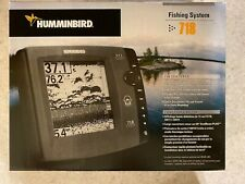 HUMMINBIRD 718 FISHING SYSTEM, BOAT FISH FINDER, COMPLETE UNIT