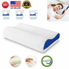 Ergonomic Adjustable Memory Foam Bed Pillow Cervical Neck Pillow Anti Snore Soft