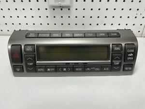 Lexus SC430 Climate Control Heater A/C Heat AC 55900-24260 146430-9136 OEM 2004