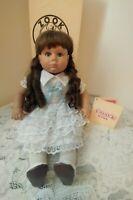 Johannes Zook Kids Vinyl Doll ''Rebecca''~ #93/1990 Original Box w/Certificate