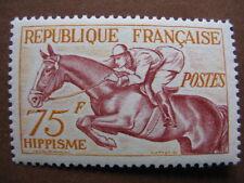 FRANCE neuf  n° 965  HIPPISME (1953)