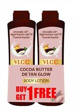 VLCC Cocoa Butter DE TAN Glow Body Lotion | BUY ONE GET ONE FREE | 100 ML Each