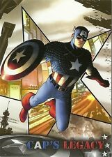 2014 Upper Deck CAPTAIN AMERICA The Winter Soldier Cap's Legacy # CL-9