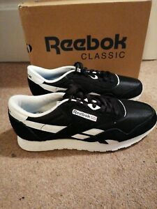 Reebok Classic Nylon Black White UK9 NEW BOXED