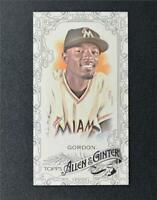 2015 Topps Allen and Ginter Mini Black #238 Dee Gordon - NM-MT