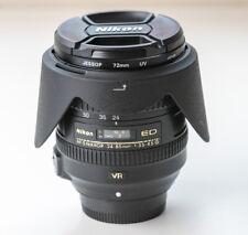 Nikon NIKKOR AF-S 24-85mm f3.5-4.5 G ED VR Lens FX - nice condition