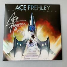 ACE FREHLEY 'Space Invader' KISS In-person signed Doppel-LP/Vinyl neu RARITÄT !!