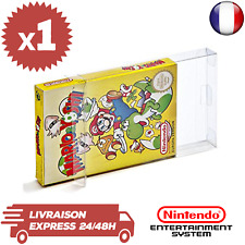 1 Boitier Protection Crystal Box Jeux Nintendo NES en Boite 0,3mm Neuf