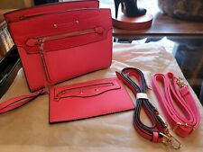 Casual pink Purses and Shoulder Handbags for Women Nylon Crossbody Bag