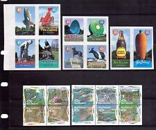 NEW ZEALAND Big Things and Conservation block sets MUH