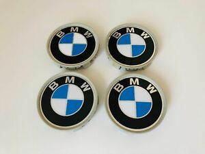 Original BMW 68mm 6768640 NABENDECKEL NABENKAPPEN FELGENDECKEL NABENABDECKUNGEN