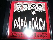 Papa Roach Ozzfest 2001 Promo Sampler CD