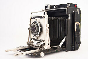 Graflex Speed Graphic Pacemaker 4x5 Large Format Press Camera w Optar 135mm V16