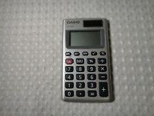 CASIO HS-8VA Two Way Power Basic Pocket Calculator Solar