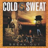COLD SWEAT- BREAK OUT (*NEW-CD, 2018) featuring Marc Ferrari Keel AOR/Pop Metal