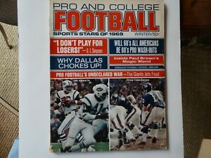 Pro and College Football: Sports Stars of 1969