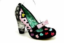 Block Heel Mary Janes Irregular Choice Shoes for Women