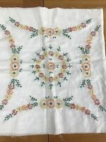 Hand Embroidered Quilt Panels 4