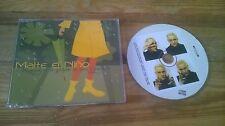 CD POP malte El Niño-vieni andiamo in giardino (5) canzone PROMO colonna sonora SC