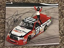 Timothy Peters Signed 8x10 Photo NASCAR autograph COA