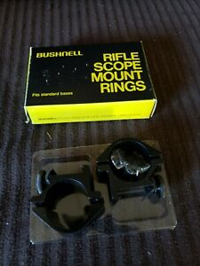 "NEW Set of 1/"" Bushnell Rilfle Scope Mount Rings For .22 Rifles Model 76-3022"
