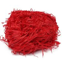 100g Luxury Red Shredded Tissue Hamper Paper Gifts Box Candy Packaging Y6A5