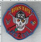 Boston Fire Department (Massachusetts) Rescue 2 Shoulder Patch