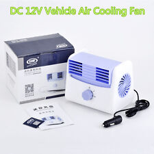 12V Car Vehicle Air Conditioning Cooling Air Fan Speed Adjustable Silent Cooler