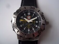 Luminox F-16 watch. Series 9100. Quartz. Replacement strap. Pre-owned.